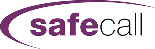 logo of safecall, a blossom tree copy agency copywriting client
