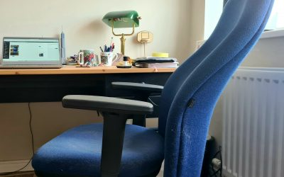 Eulogy for an office chair