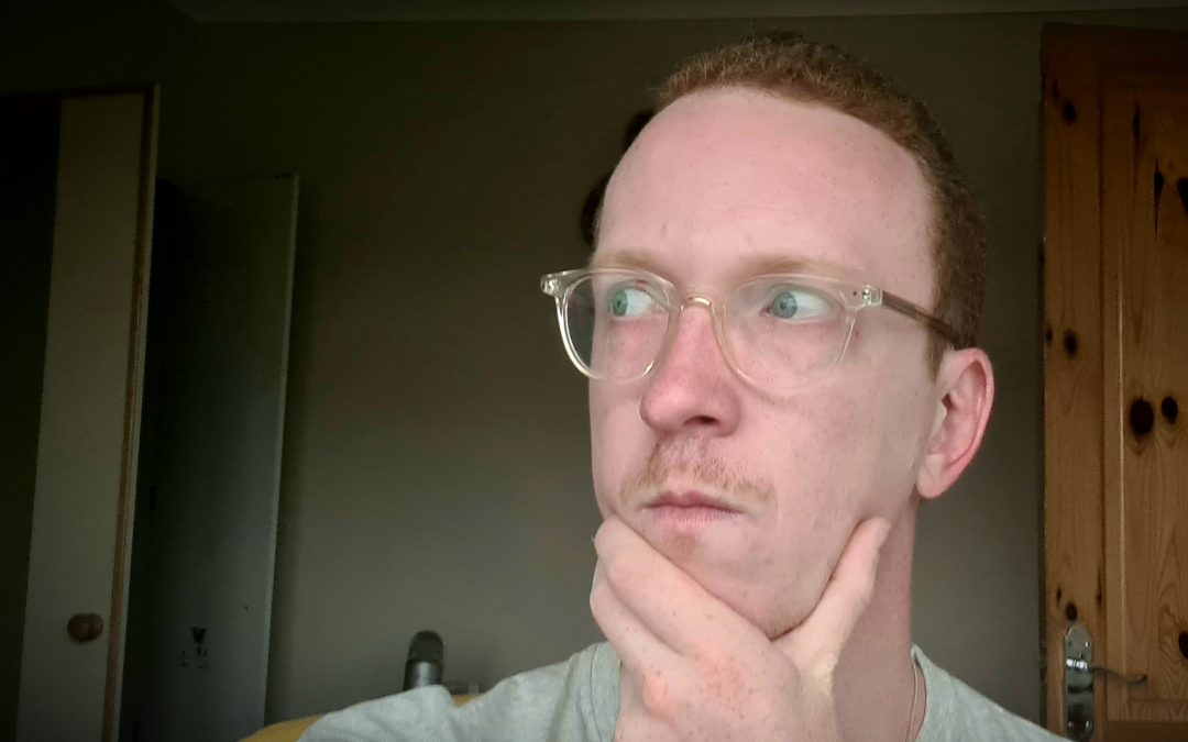 mark grainger, freelance copywriter and content writer thinking