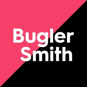 logo for bugler smith, creative copywriting client of blossom tree copy